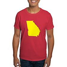 Yellow Georgia T-Shirt
