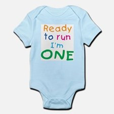Ready to run I'm One Infant Creeper
