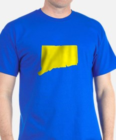 Yellow Connecticut T-Shirt