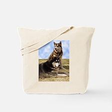 Malamute Sweetness Tote Bag
