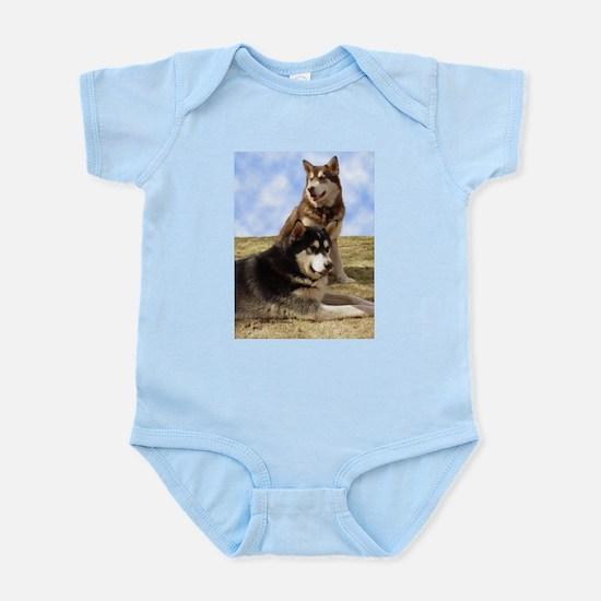 Malamute Sweetness Infant Bodysuit