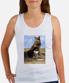 Malamute Sweetness Women's Tank Top