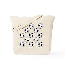 Soccer Balls Tote Bag