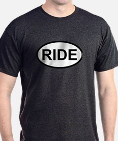 RIDE - Motorcycle/Bicycle Rider T-Shirt