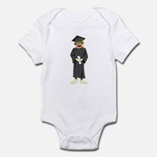 Sock Monkey Graduation Infant Bodysuit