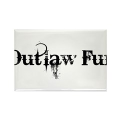 Outlaw Fur Rectangle Magnet (10 pack)