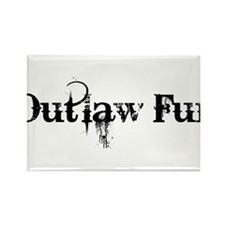 Outlaw Fur Rectangle Magnet