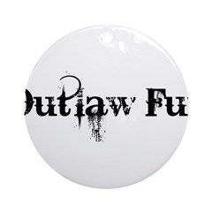 Outlaw Fur Ornament (Round)