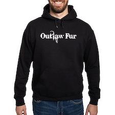 Outlaw Fur Hoodie (dark)