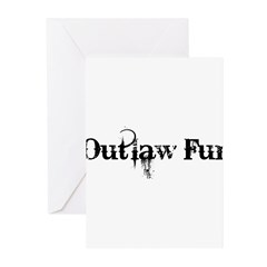 Outlaw Fur Greeting Cards (Pk of 10)