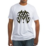Tribal Woven Blades Fitted T-Shirt