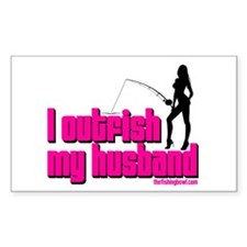 Outfish My Husband Sexy Decal