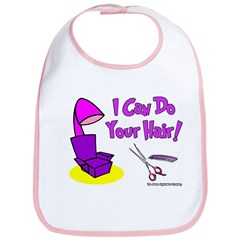 I Can Do Your Hair Bib