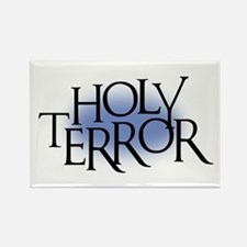 Holy Terror Rectangle Magnet