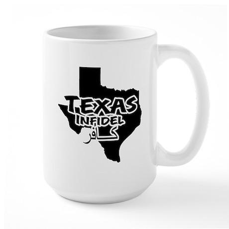Texas Infidel Large Mug
