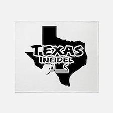 Texas Infidel Throw Blanket