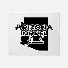 Arizona Infidel Throw Blanket