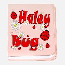 Haley Bug baby blanket