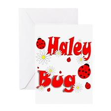 Haley Bug Greeting Card