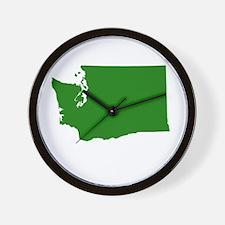 Green Washington Wall Clock