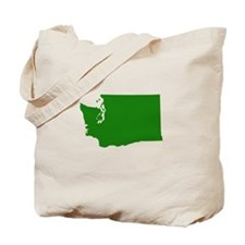 Green Washington Tote Bag