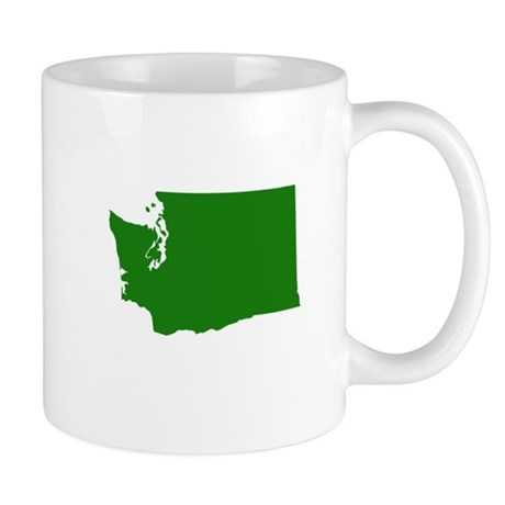 Green Washington Mug