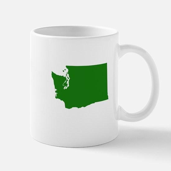 Green Washington Mug