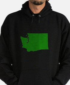 Green Washington Hoodie (dark)