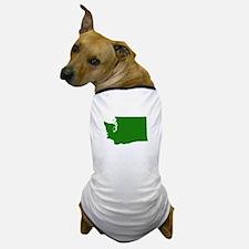 Green Washington Dog T-Shirt
