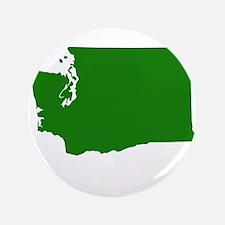 "Green Washington 3.5"" Button"