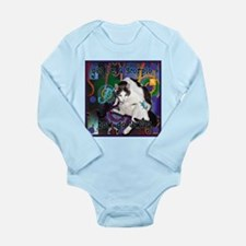 Cat Scorpio Long Sleeve Infant Bodysuit