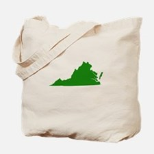 Green Virginia Tote Bag
