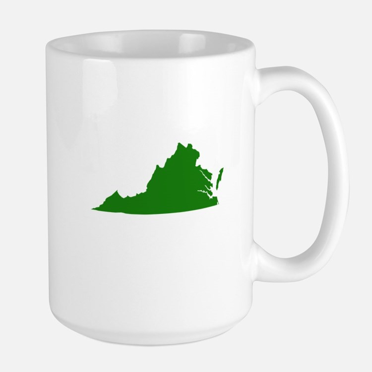 Green Virginia Large Mug