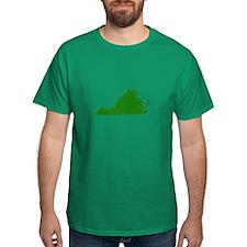 Green Virginia T-Shirt