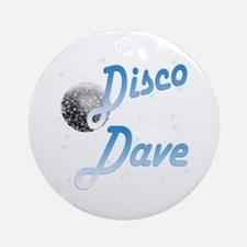 Disco Dave Ornament (Round)