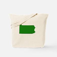 Green Pennsylvania Tote Bag