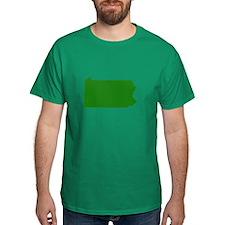 Green Pennsylvania T-Shirt