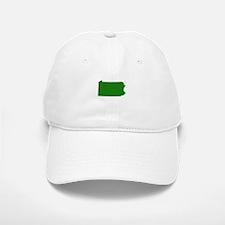 Green Pennsylvania Baseball Baseball Cap