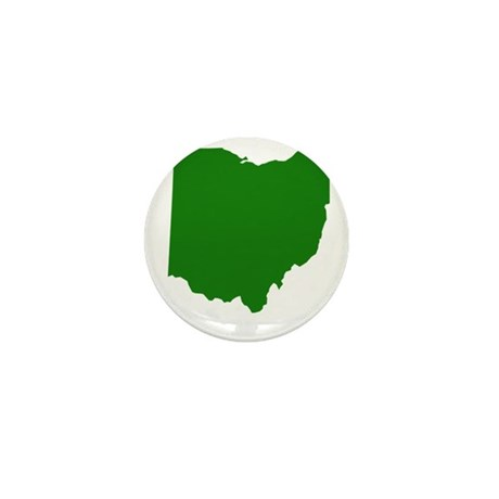 Green Ohio Mini Button (10 pack)
