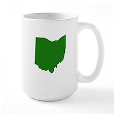 Green Ohio Mug