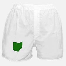 Green Ohio Boxer Shorts