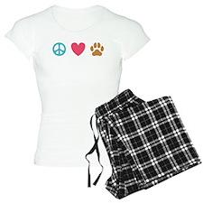Peace Love Dogs [st] Pajamas