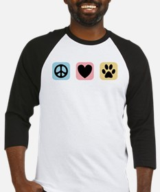 Peace Love Pets [i] Baseball Jersey