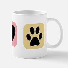 Peace Love Pets [i] Mug
