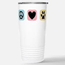Peace Love Pets [i] Travel Mug