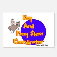 Dog And Pony Show Coordinator Postcards (Package o