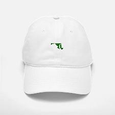 Green Maryland Baseball Baseball Cap