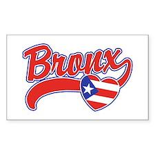 Bronx Puerto Rican Decal