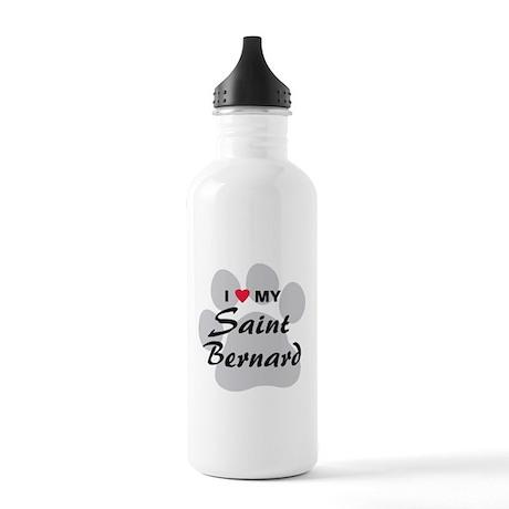 Saint Bernard Stainless Water Bottle 1.0L
