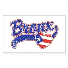 Bronx Puerto Rican Decal